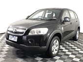 Unreserved 2008 Holden Captiva SX (4x4) CG T/D Wagon