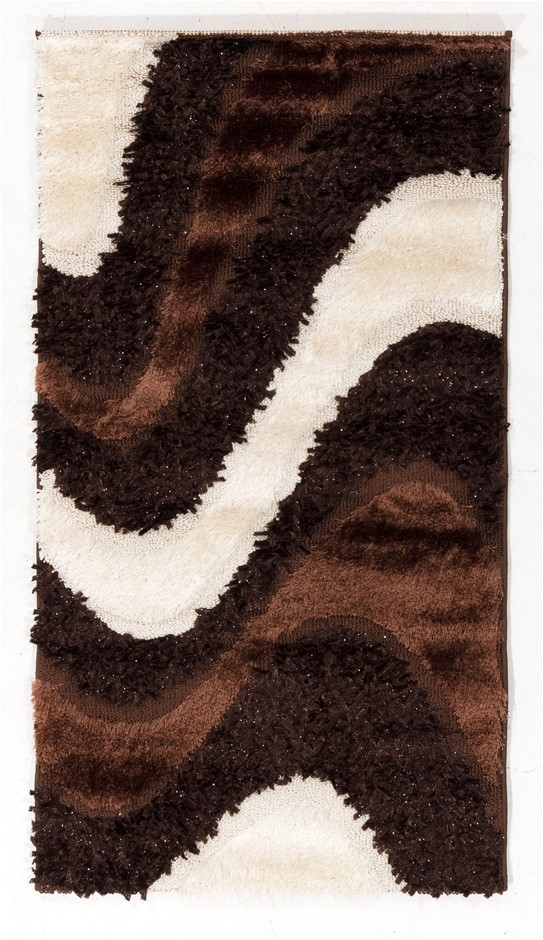 Machine Made Shaggy Rug Size (cm): 80 x 150