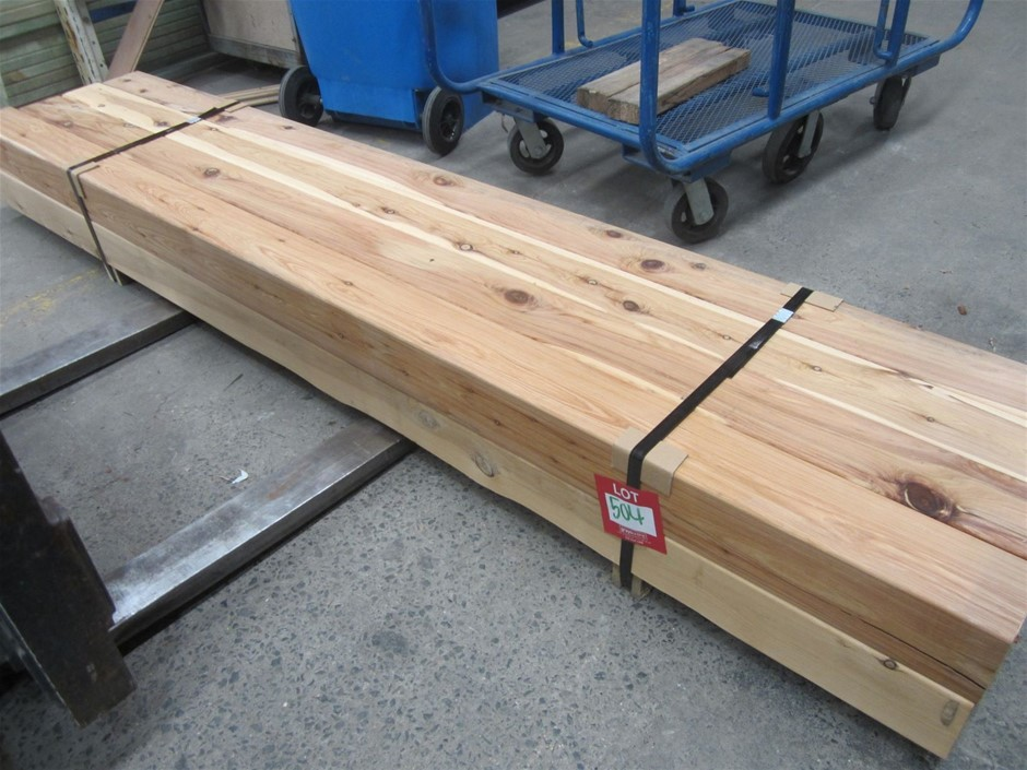 Pack of 8 Cypress Pine 115mm x 115mm Posts