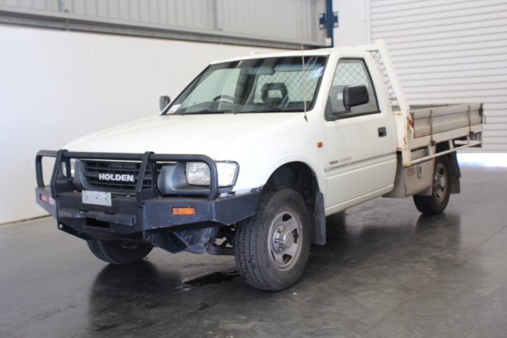 2001 Holden Rodeo LX R9 Manual Cab Chassis