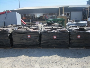 Pallet of Terracotta Roof Tiles - Approx
