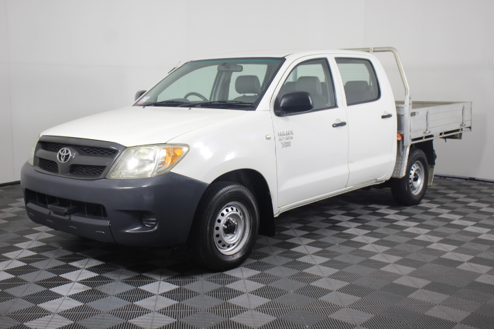 2006 Toyota Hilux Workmate TGN16R Manual Dual Cab