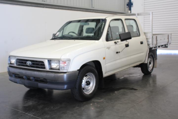 2000 Toyota Hilux Manual Dual Cab