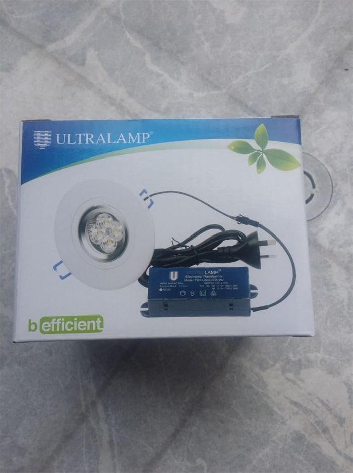 10 X LED Downlight Kit, Ultralamp, b efficient, Model No: MR16-7W-SP12V
