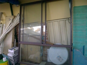 Window Brown in colour, size: (1800 W X
