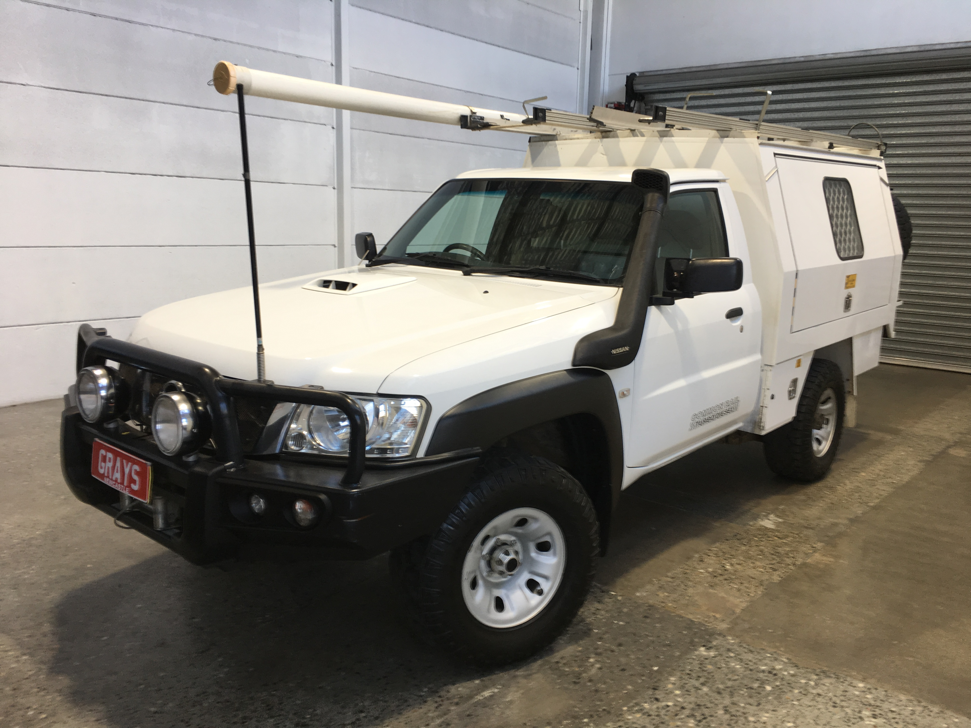 2014 Nissan Patrol DX (4x4) GU Turbo Diesel Manual Cab Chassis