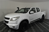 2014 Holden Colorado 4X4 LX RG T/Dsl Man Crew Cab Chassis