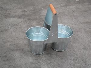 Pallet of Approx. 125 Metal 2 Bins Bucke