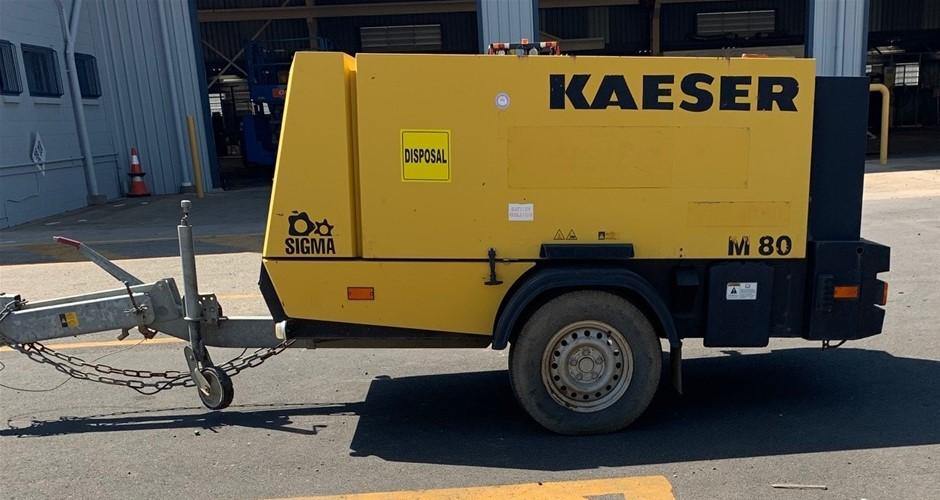 2010 Kaeser M80 300CFM Diesel Air Compressor - Gladstone