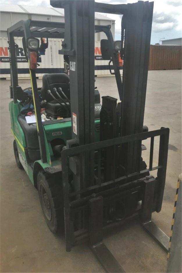 2007 CAT DP25N 2.5T 3.0m Diesel Forklift - Gladstone