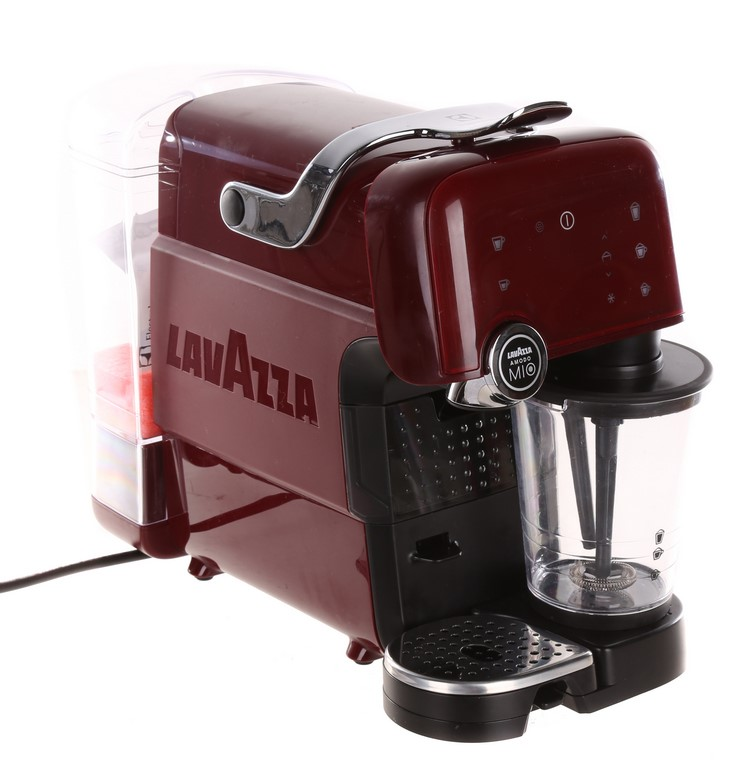 ELECTROLUX Lavazza Fantasia Modo Mio Coffee Machine, Red. N.B. Has been use
