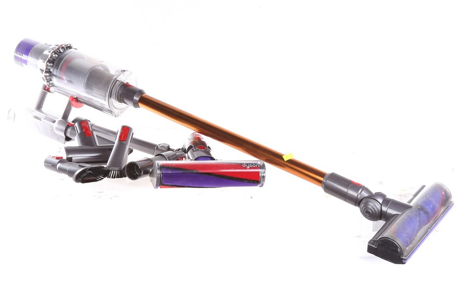 DYSON Cyclone V10 Absolute+ Vacuum Cleaner. Complete with Accessories. N.B.