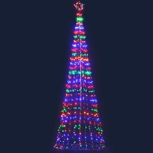 Jingle Jollys 5M LED Christmas Tree Opti