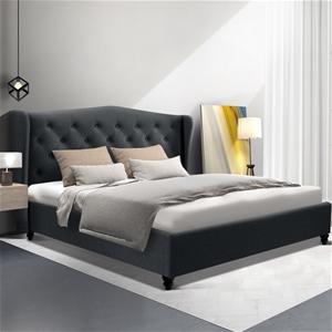 Artiss Queen Bed Frame Base Mattress Pla