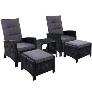 Gardeon Outdoor Patio Furniture Recliner