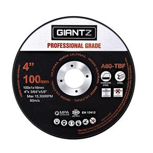 """Giantz 25 x 4"""" Cutting Disc 100mm Metal"""