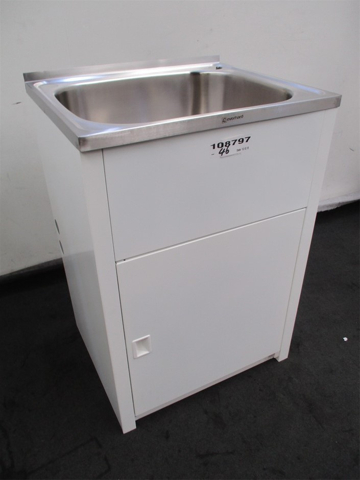 Everhard Laundry Tub & Cabinet