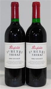 Penfolds `St. Henri` Shiraz 1996 (2x 750