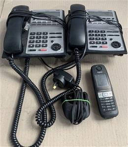Qty 3 x Assorted Phones