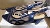 Taranto Alia Blue Shoe, Size: 37