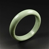 63mm Chinese 100% Natural Green Jade Bangle Bracelet
