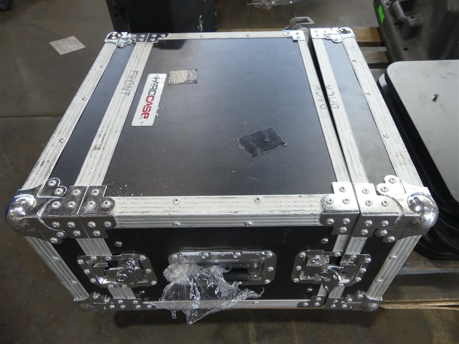 Road Case with Datavideo Tlm-702 2 X 7`` SD TFT LCD Monitor + QUEST VDA212