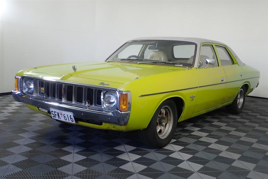 1975 Chrysler Valiant Ranger Vk Automatic Sedan Auction 0007 60010001 Graysonline Australia