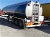 2009 Marshall LethLean Fuel Tanker Trailer