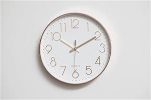 Modern Wall Clock Silent Non-Ticking Qua