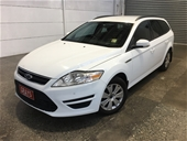 2014 Ford Mondeo LX TDCi MC Turbo Diesel Automatic Wagon