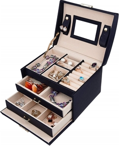 Jewellery Storage Box Girls Rings Neckla