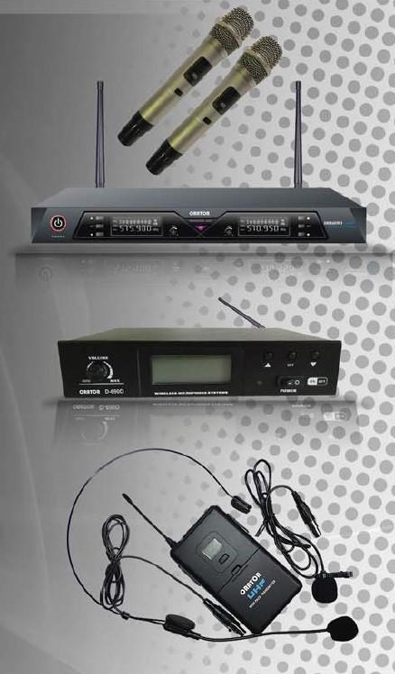 Orator UHF 2-Channel True Diversity 100PLL Mic Kit
