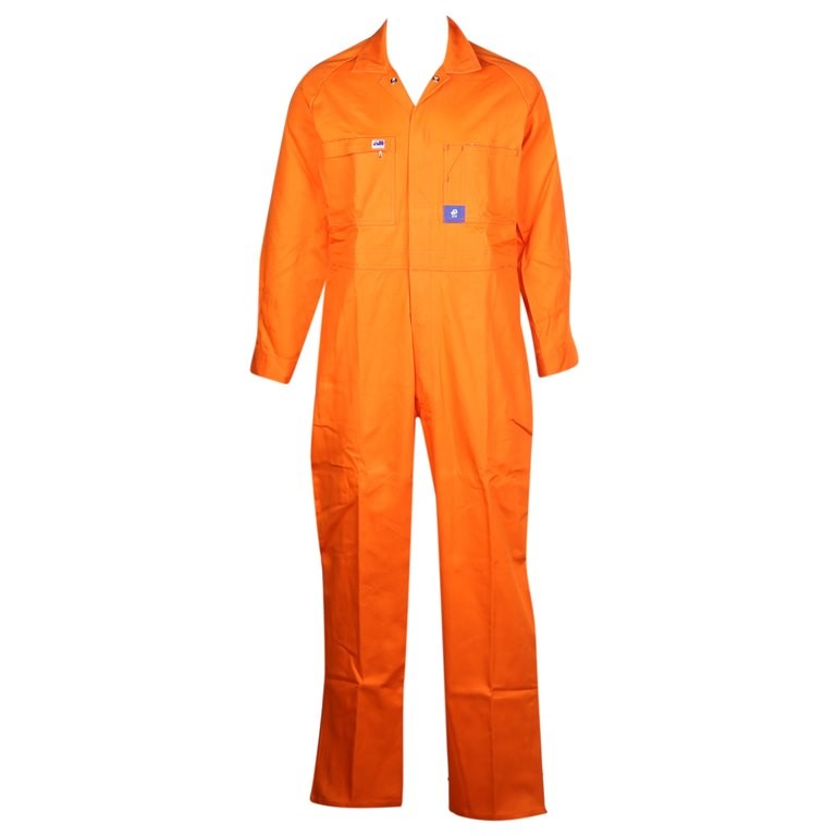 2 x Pairs WORKSENSE Cotton Drill Combination Overalls, Size 82R, Heavy Weig