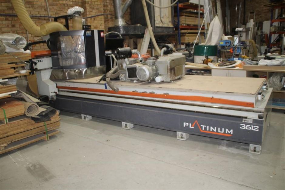 Platinum 3612 CNC Router Machine