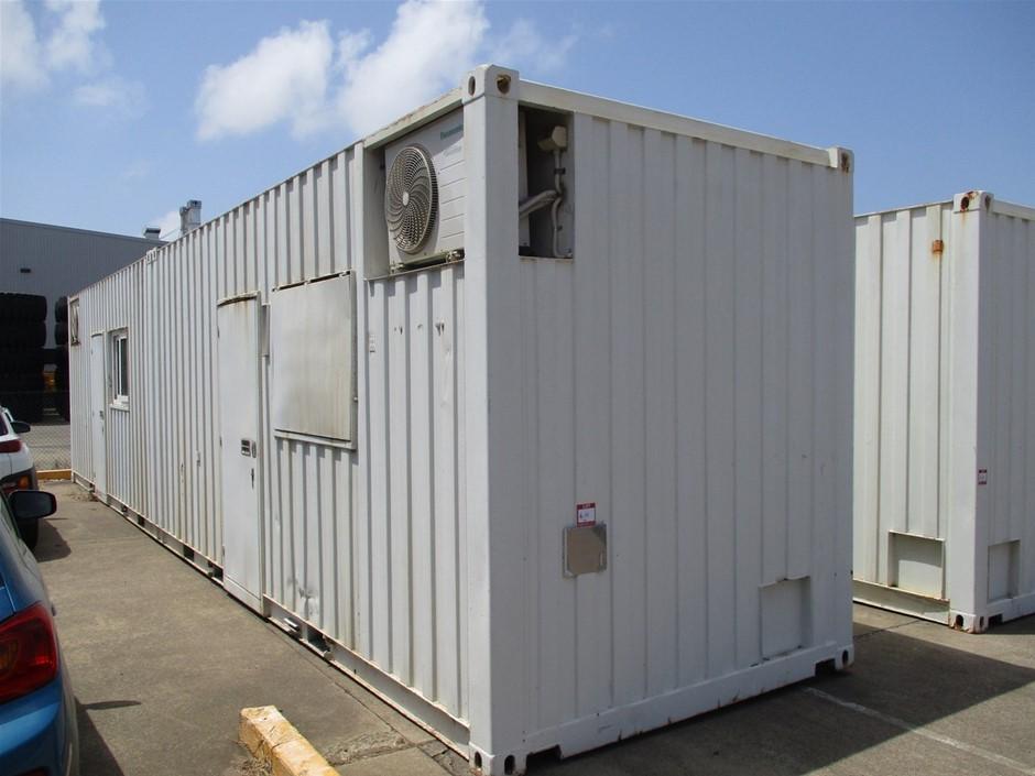 Twin Module Transportable Office