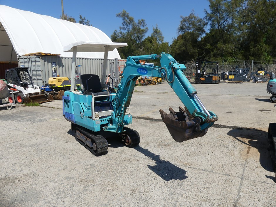 KUBOTA KX-012 Excavator