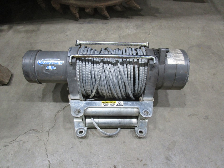 Ramsey 9.5 Vehicle Mountable Winch
