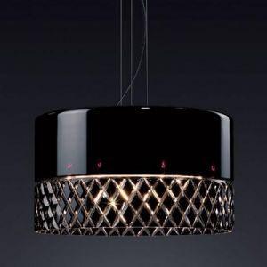 Esedra Crystal 24 Pendant lamp Black