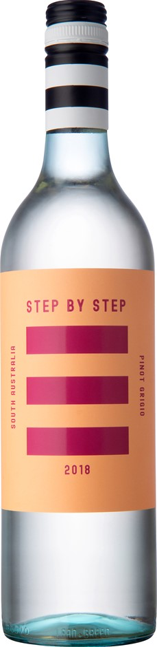 Step By Step Pinot Grigio 2018 (12 x 750mL) SA