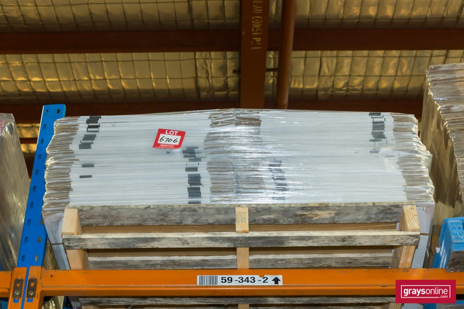 Pallet of Cardboard Cartons, Flat Packed Auction (6706 ...