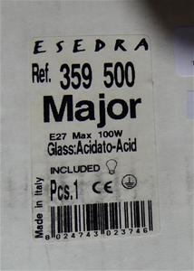 Esedra Major Glass:Acidato-Acid, 359 500