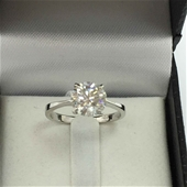 Dima Handcrafted 18 Karat Moissanite & Diamond Collection