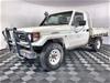 2002 Toyota Landcruiser (4x4) HZJ79R 4.2 Diesel Cab Chassis
