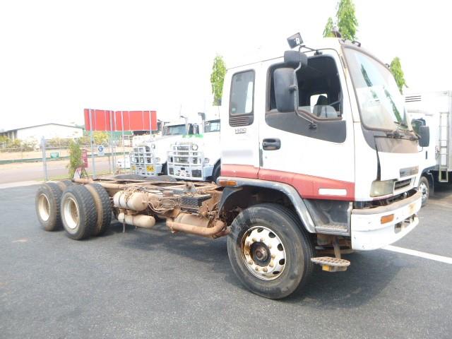 2000 Isuzu 1400 Sitech FY FVZ 4 x 2 Cab Chassis Truck Truck