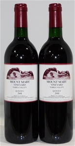 Mount Mary 'Quintet' Red Blend 2001 (2x