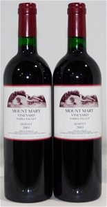 Mount Mary 'Quintet' Red Blend 2003 (2x