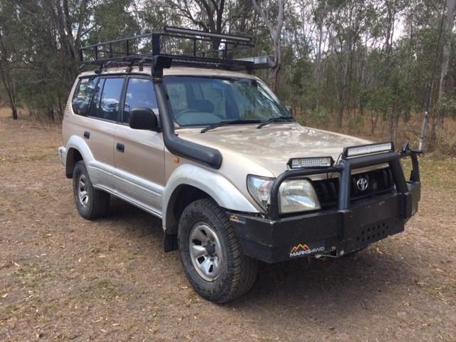 1998 Toyota Prado 4WD Automatic - 4 Speed Wagon