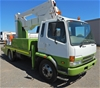 2006 Mitsubishi FK 600 4x2 Travel Tower Truck