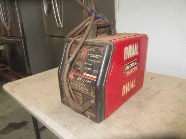 Lincoln SP170T Mig Welder Auction (0267-9014745 ...