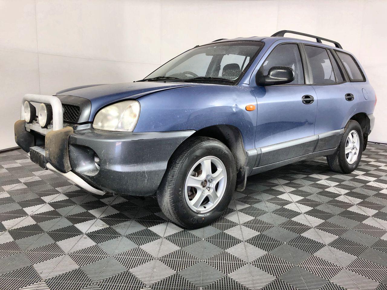 2001 Hyundai Santa Fe GL (4x4) Automatic Wagon